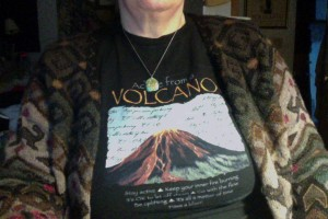 Wearing the Fierce Mother: Volcano for Pele and Kali