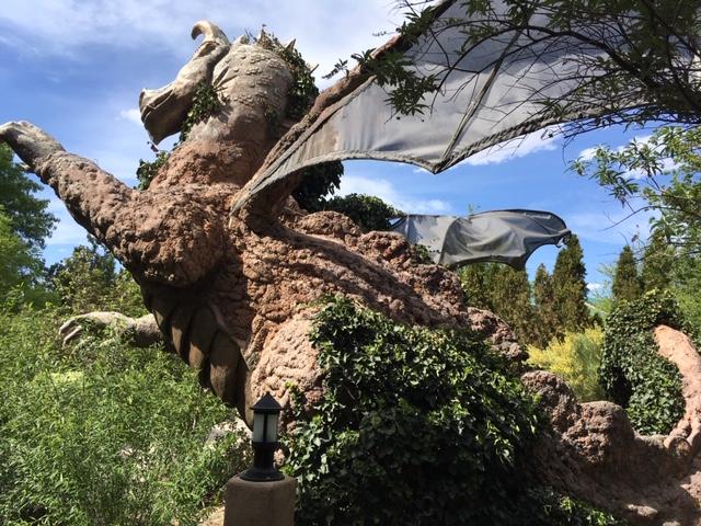 Dragon at Albuquerque Botanic Garden